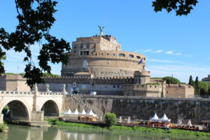 A view of Castel Sant Angelo